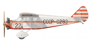 Yakovlev AIR 6 side views