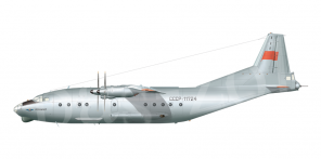 Antonov An 12BK side views