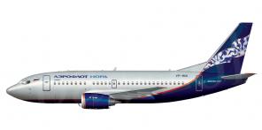 Boeing B737 500 side views