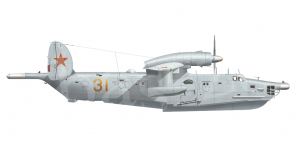 Beriyev Be 12PS side views