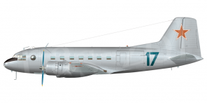 Il'yushin Il 14T side views