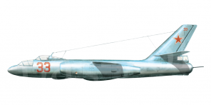 Il'yushin Il 28U side views