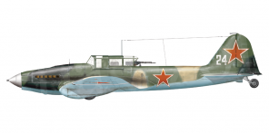 Ilyushin Il 2m3 side views