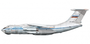 Il'yushin Il 76M side views