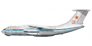 Il'yushin Il 76MD side views