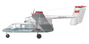 PZL M 15 Belphegor side views