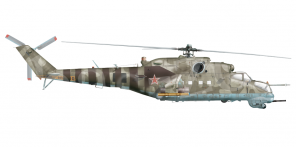 Mil Mi 24V side views