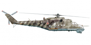 Mil Mi 24P side views