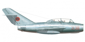 Mikoyan MiG 15UTI side views