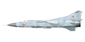 Mikoyan MiG 23M side views