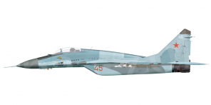Mikoyan MiG 29 side views