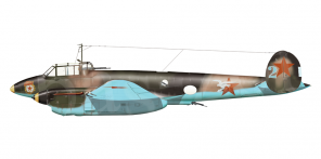 Petlyakov Pe 2 side views