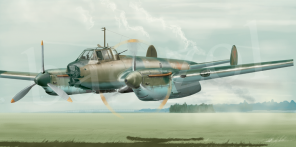Petlyakov Pe 2 artworks