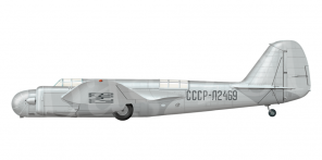 Tupolev PS 40 side views