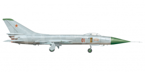 Sukhoi Su 15 side views