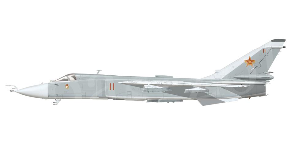 Sukhoi Su-24 Side view // by Basil Zolotov