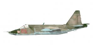 Sukhoi Su 25 side views