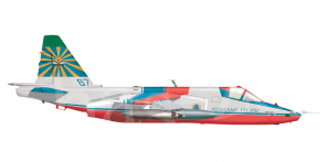 Sukhoi Su 25 side views