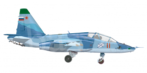 Sukhoi Su 25UTG side views
