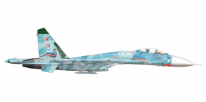 Sukhoi Su 27P side views