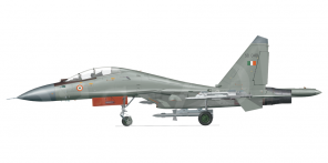 Sukhoi Su 30MKI side views