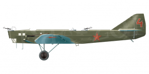 Tupolev TB 1 side views