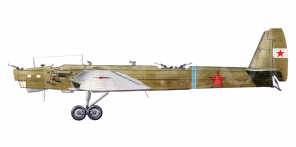 Tupolev TB 3 side views