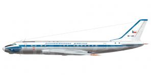 Tupolev Tu 104A side views