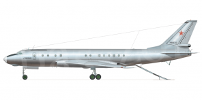 Tupolev Tu 107 side views
