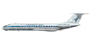 Tupolev Tu 134A side views