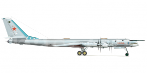 Tupolev Tu 95MS side views