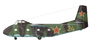 Yakovlev Yak 14 side views