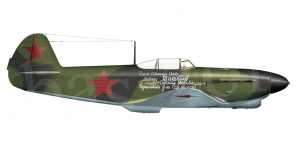Yakovlev Yak 1b side views