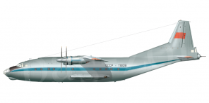 Antonov An 12 side views