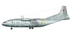Antonov An 12 side views