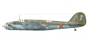 Arkhangelskiy Ar 2 side views