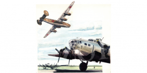 B 17 & B 24 art artworks