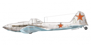 Ilyushin Il 2 side views