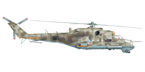 Mil' Mi 24P side views