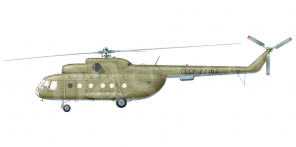 Mil Mi 8T side views
