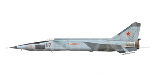 Mikoyan MiG 25RBSh side views