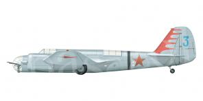 Tupolev SB side views
