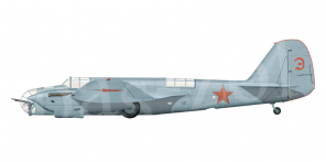 Tupolev SB side views