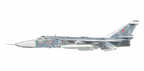 Sukhoi Su 24MR side views