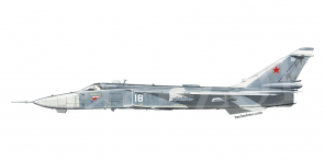 Sukhoi Su 24MP side views