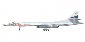 Tupolev Tu 160 side views