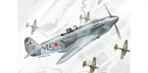 Yakovlev Yak 3 artworks