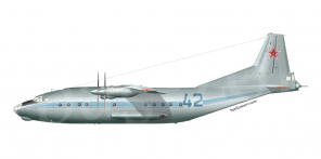 Antonov An 12B side views
