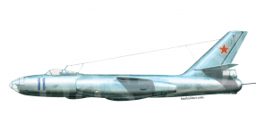 Ilyushin Il 28 side views