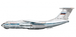 Ilyushin Il 76MD side views